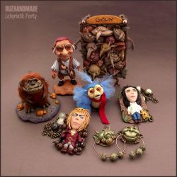 LABYRINTH clay collection ONLINE! by buzhandmade