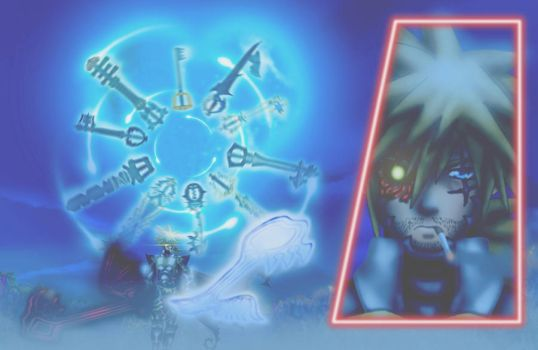 LORD OF KEYBLADE..... SORA by Raltair