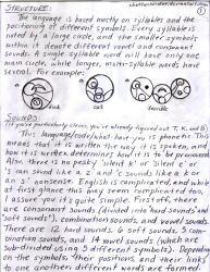 Gallifreyan Guide P.1: Structure and Sounds Intro. by cbettenbender