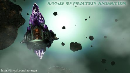 Warcraft Argus Expedition Animation by Belvane
