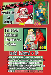 Commission Prices by TheRickMaster