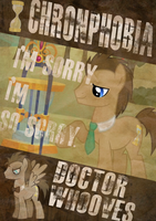 Doctor Whooves Poster by Dark-Jackass