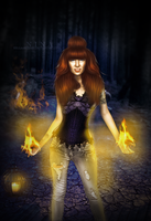 . set the world on fire by BellaArtemis
