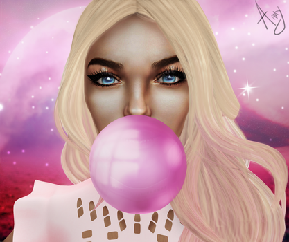 #Bubble Gum by anaderzsi