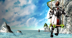 Solus sells seashells by the sea shore by Steelguard