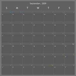 Calendar Notes by r3ginald