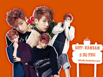 Got7- Bambam Png Pack by Tekmile