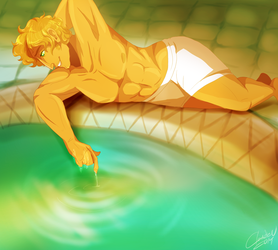 Narcissus by goldypirate