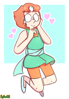 Pearl Doodle - 1 by ryllcat21