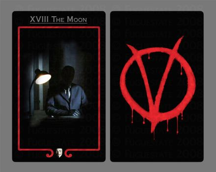 XVIII.  The Moon by FugueState