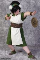 Toph Beifong Commission by Forfaxia