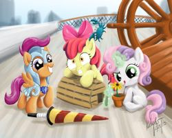 CMC's Visit Baltimare! by Zene