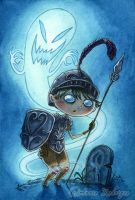 The Scaredy Soldier by maina