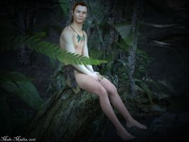 Forest Elf by Male-M3Dia