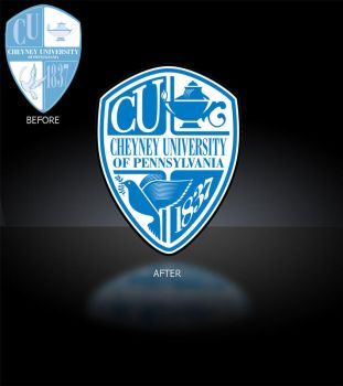Cheyney University Logo by ZGDA