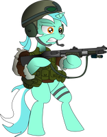 Armed Lyra by ShySolid