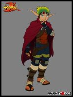 Jak and Daxter4 concept-art jak-wip by Nero-DevilHunter