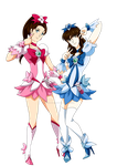 Me and my best friend like Heartcatch Precure by Laura-Moon97