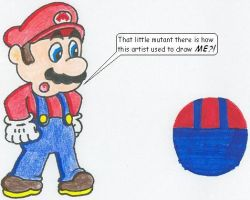 I Used To Draw Mario This Way by nintendomaximus