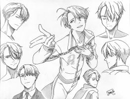 Viktor Nikiforov Collage by step-on-mee