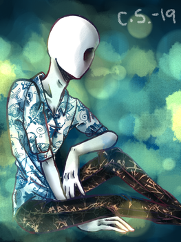 Sylvan Partiality_Slenderman by crescentshadows19