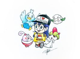 Dr.Slump x Pokemon (Arale)