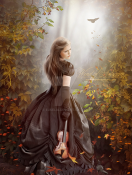 Wind of Autumn by Euselia