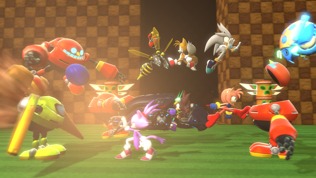 Heroic Battle (SFM) + PowerRose Textures Available by TheRaiBone12