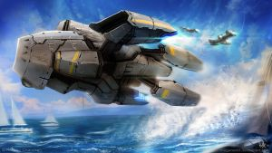Low Pass Flyby by MeganeRid