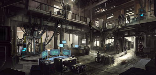 Base of operations by Aisxos