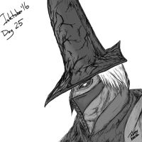 Inktober 2016 Day 25 - Abyss Watchers by j0hnnyblade