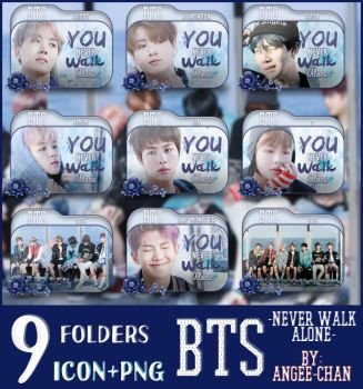 FOLDERS DE -BTS-YOU NEVER WALK ALONE 2- by ANGEE-CHANN
