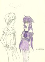 Impoved Mistuki and Shion Vocaloid OC by KiyaSparleVampire