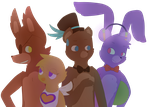 The Originals of Fazbear Entertainment by Cookie-and-her-foxes