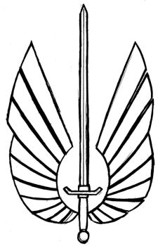 Rifts: Secrets of the Atlanteans: Winged Weapon by bar1scorpio