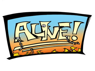 Alive! logo by EnzymeDevice