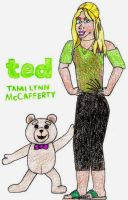 Ted and Tami Lynn: Break Time Sketches by jamesgannon