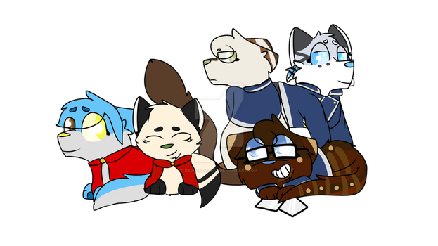 Professional only squad by Redpandaseas