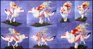 Okami - Soft sculpture by Piquipauparro