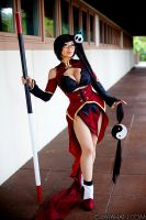 Litchi Faye Ling Costume Break Down by yayacosplay