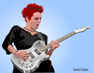 Matthew Bellamy 5 by screenprint
