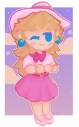 Princess Peach by 12thPlace