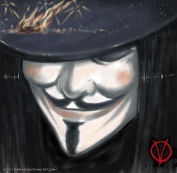 V for Vendetta by DanaArena