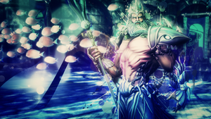 Poseidon, God of The Oceans (Smite) - Wallpaper by Getsukeii