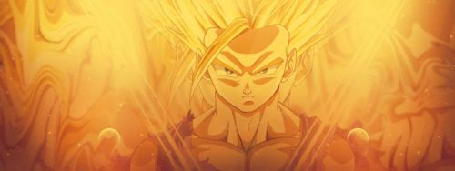 Teen Gohan SS2 Facebook Cover by AgusholliD