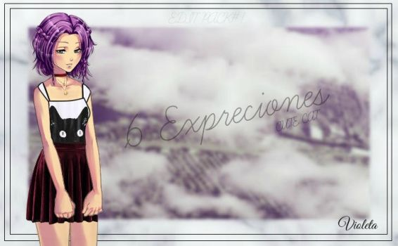 CDM Edit1 //Violeta'pack by Yujanitzy