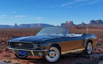 1967 Ford Mustang Convertible by Y-Phil