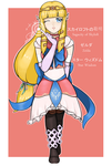 [COLLAB] Magical Girl Zelda by Indie-Calls