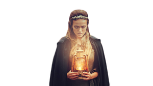 girl with lamp png by JessicaRufus