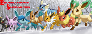 Eeveelutions Supporter Banner by SavirtriXLeo